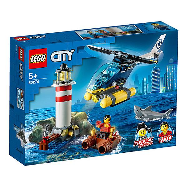 LEGO 樂高 CITY 城市系列 60274 特警燈塔拘捕 【鯊玩具Toy Shark】