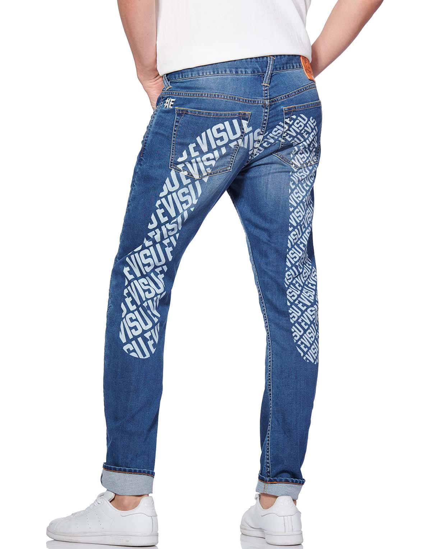 Allover Logo Daicock Printed 3D-cut Jeans