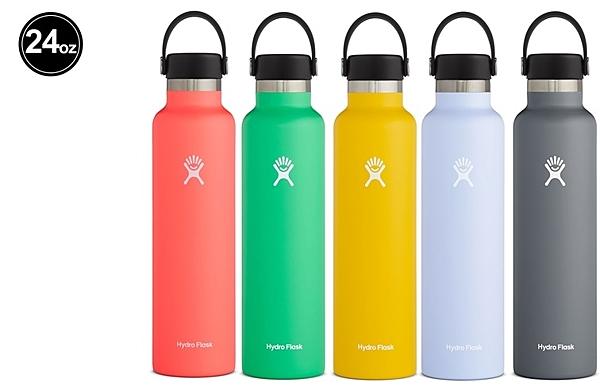 【線上體育】HYDRO FLASK 保冷/熱兩用鋼瓶 24oz 標準口真空保溫鋼瓶 710ml