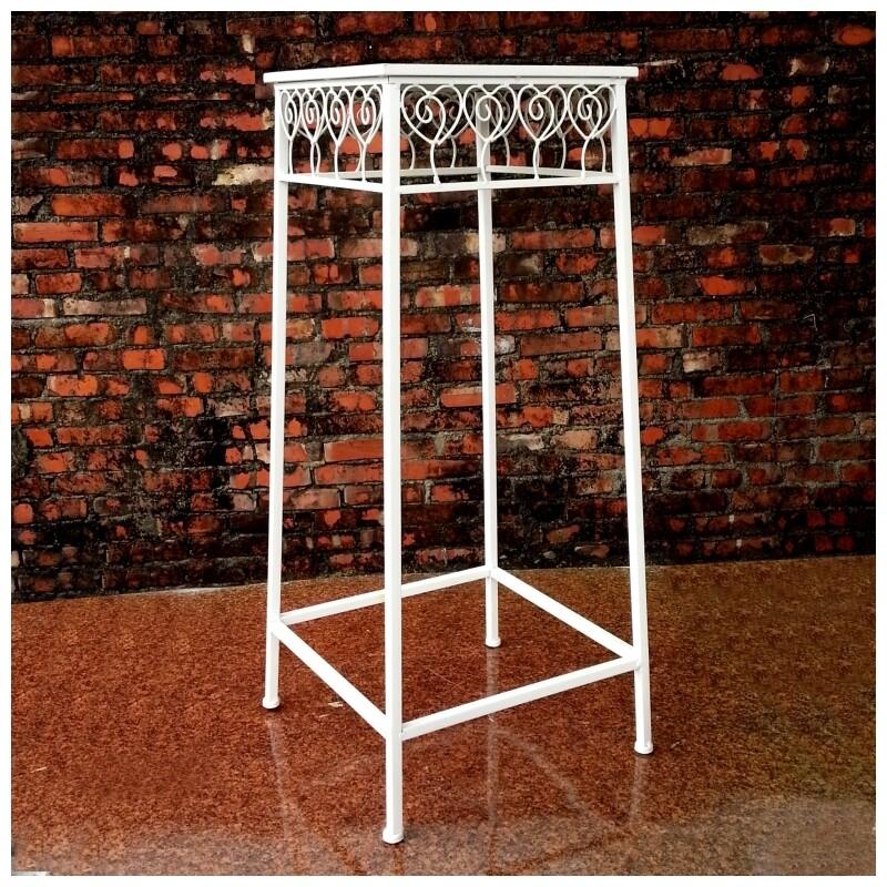 decobox心語白色方形大花架(婚禮布置, 會場展示架)