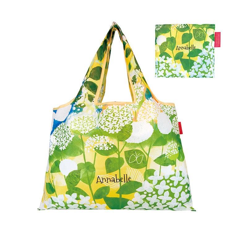 現貨/附發票日本 prairie dog 設計包 (幸福繡球花) 環保購物袋 摺疊購物袋 環保袋