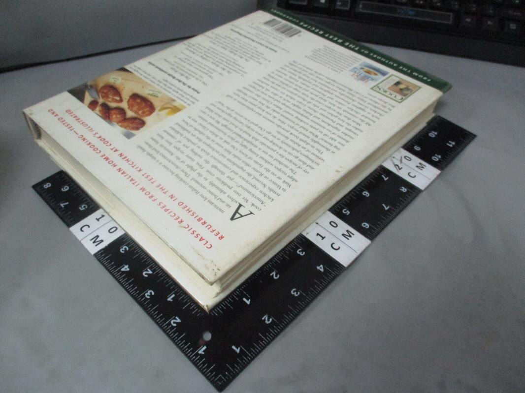 【書寶二手書T6/餐飲_E6C】Italian Classics_Cook's Illustrated Magazine (EDT)/ Tremblay, Carl (PHT)/ Van Ackere