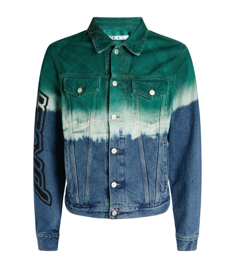 Off-White Dip-Dye Denim Jacket