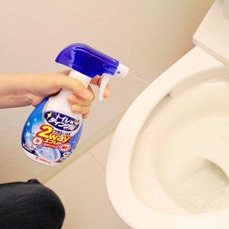 日本 KINCHO 金鳥 直射泡沫兩用馬桶清潔劑 300ml 馬桶清潔 清潔劑 清潔【N601420】