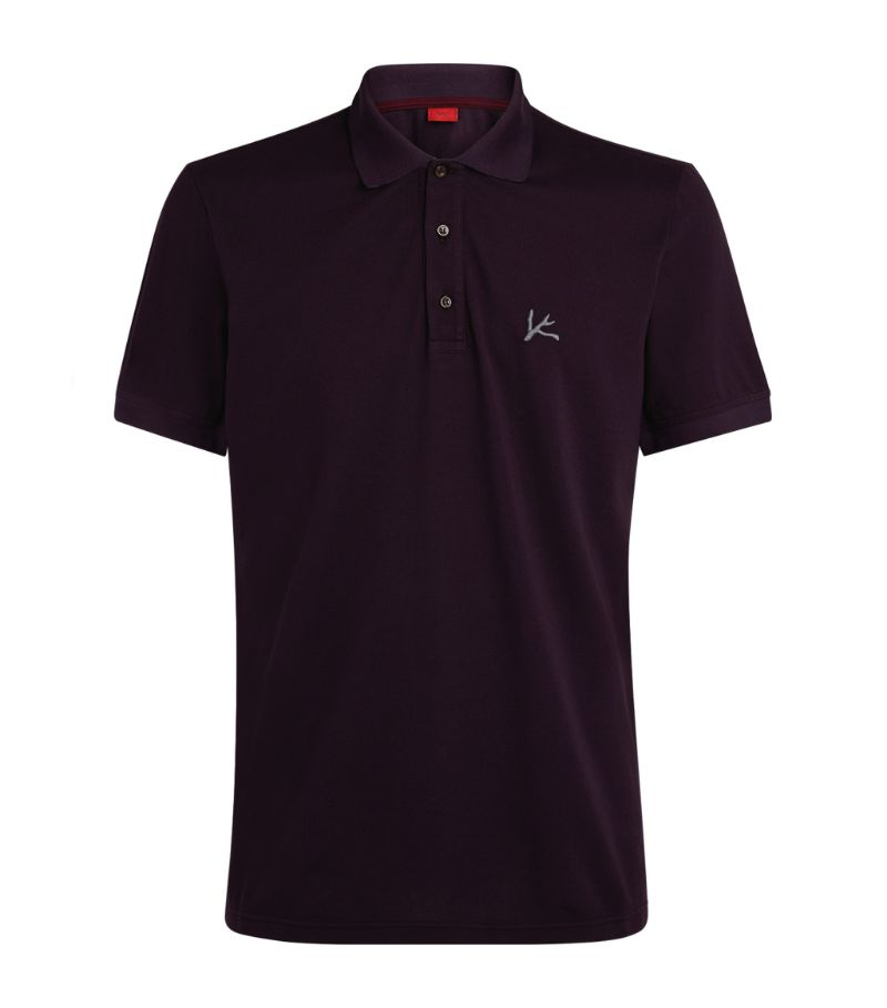 Isaia Logo Polo Shirt