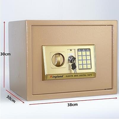全鋼隱形家用小型保險箱入牆迷你衣櫃防盜辦公保險櫃保管箱保管櫃