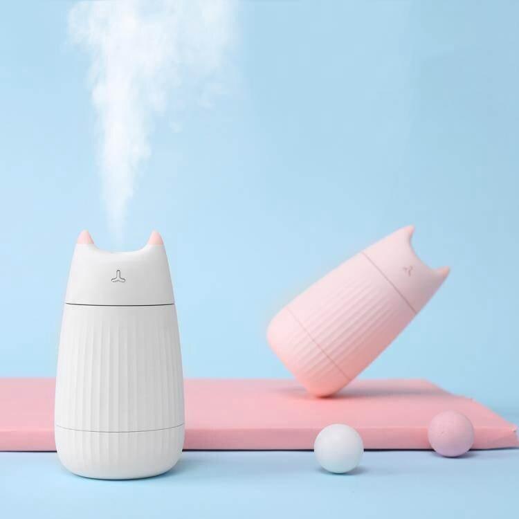 加濕器貓咪加濕器小型usb迷你可愛便攜式臉部噴霧補水儀家用靜音臥室大霧