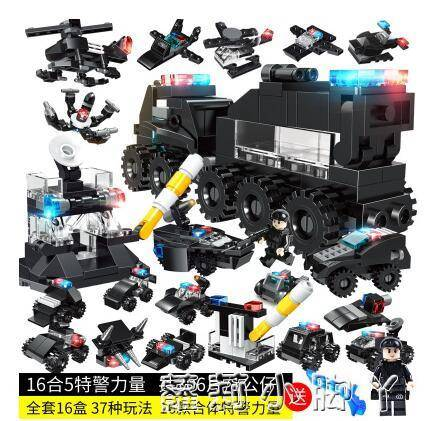 匹配2020新品積木拼裝玩具益智力男孩子吃雞女孩系列軍事坦克