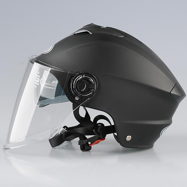 安全帽 電動車6465加大碼頭盔男女夏季特大號XXXXL半盔4XL防曬雙鏡安全帽 宜品居家