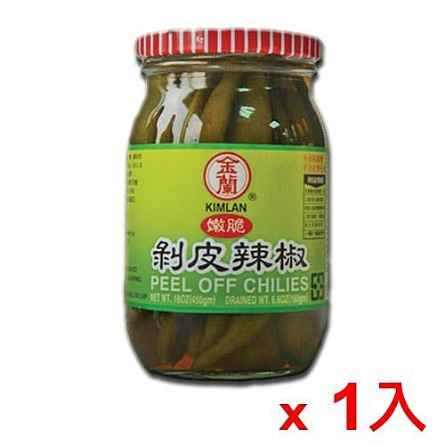 金蘭剝皮辣椒450g【愛買】