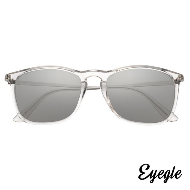 eyegle KYLE 瀟灑系列 休閒時尚墨鏡-透明