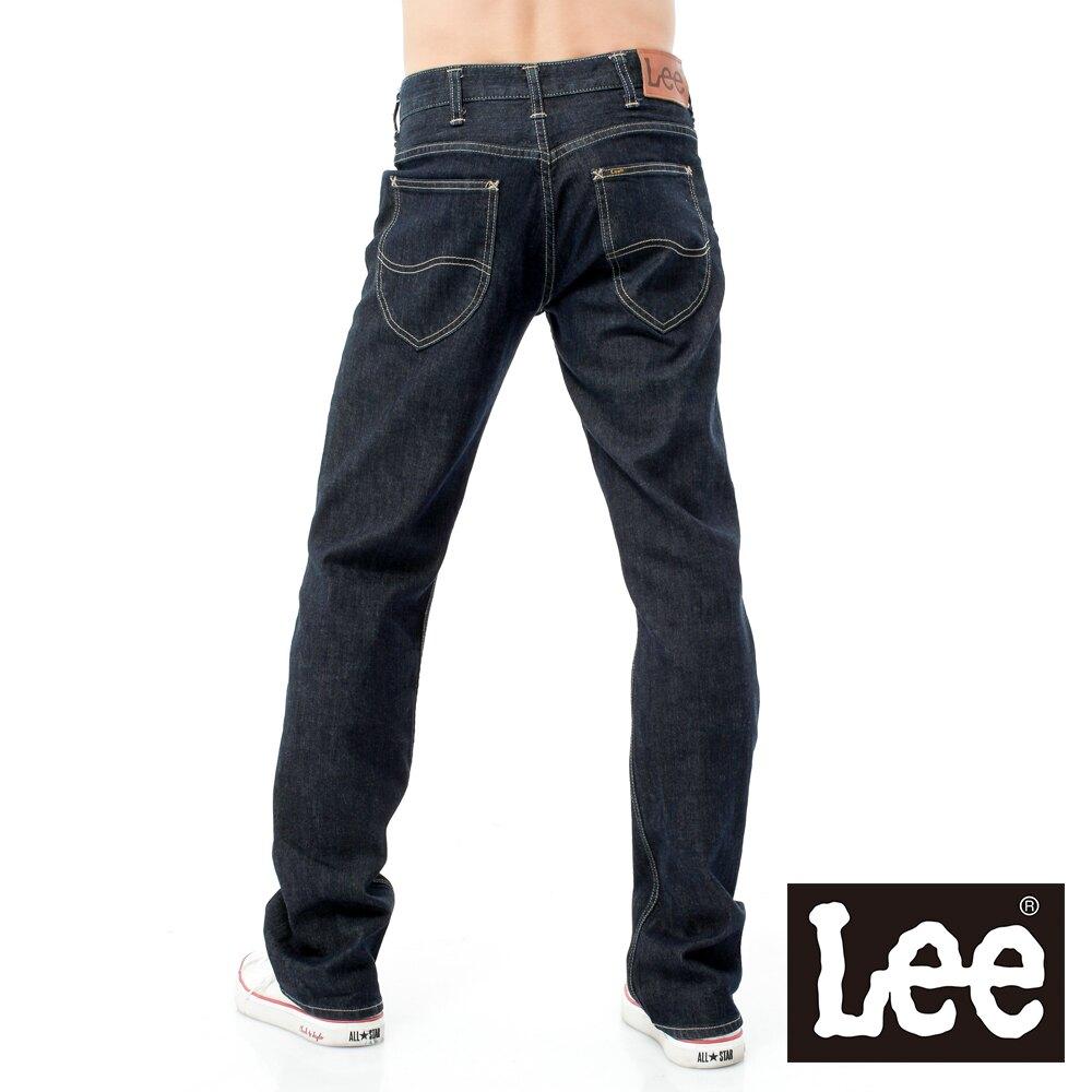 【全館免運 | 滿額↘再折$150】Lee 727 中腰標準直筒牛仔褲 RG 男款 深藍