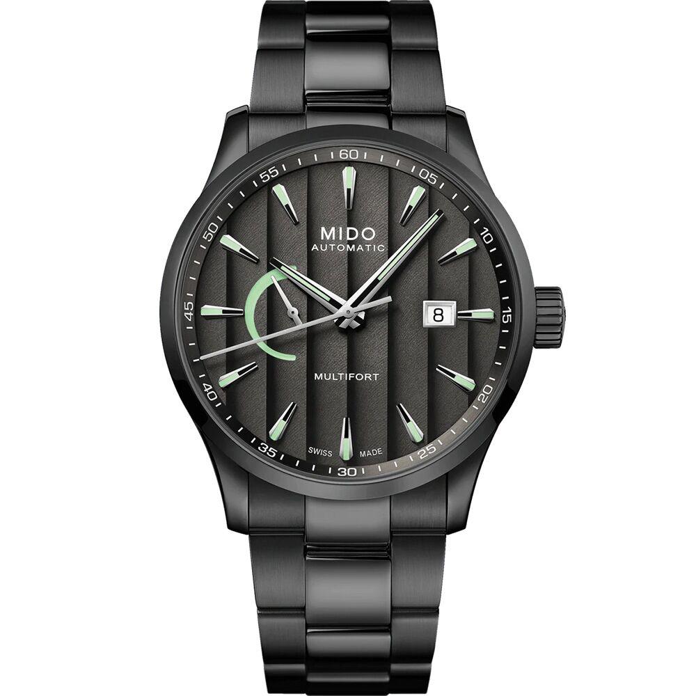 MIDO 美度 Multifort 動力儲存日內瓦經典機械錶 M0384243306100