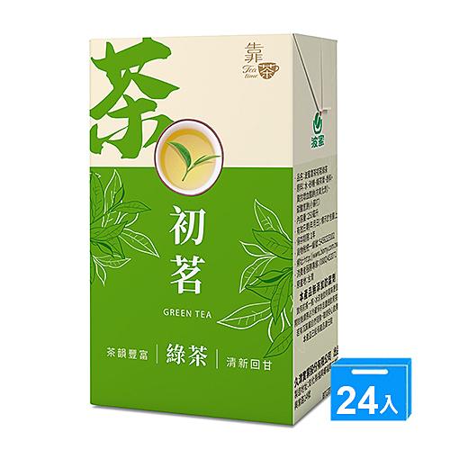 波蜜靠茶初茗綠茶250ml x 24【愛買】