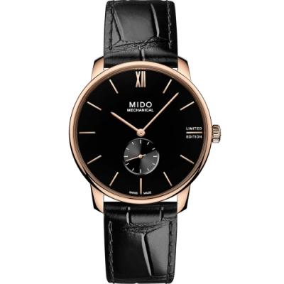 MIDO 美度 Baroncelli 永恆系列小秒針限量手上鍊腕錶 M0374053605000-39mm