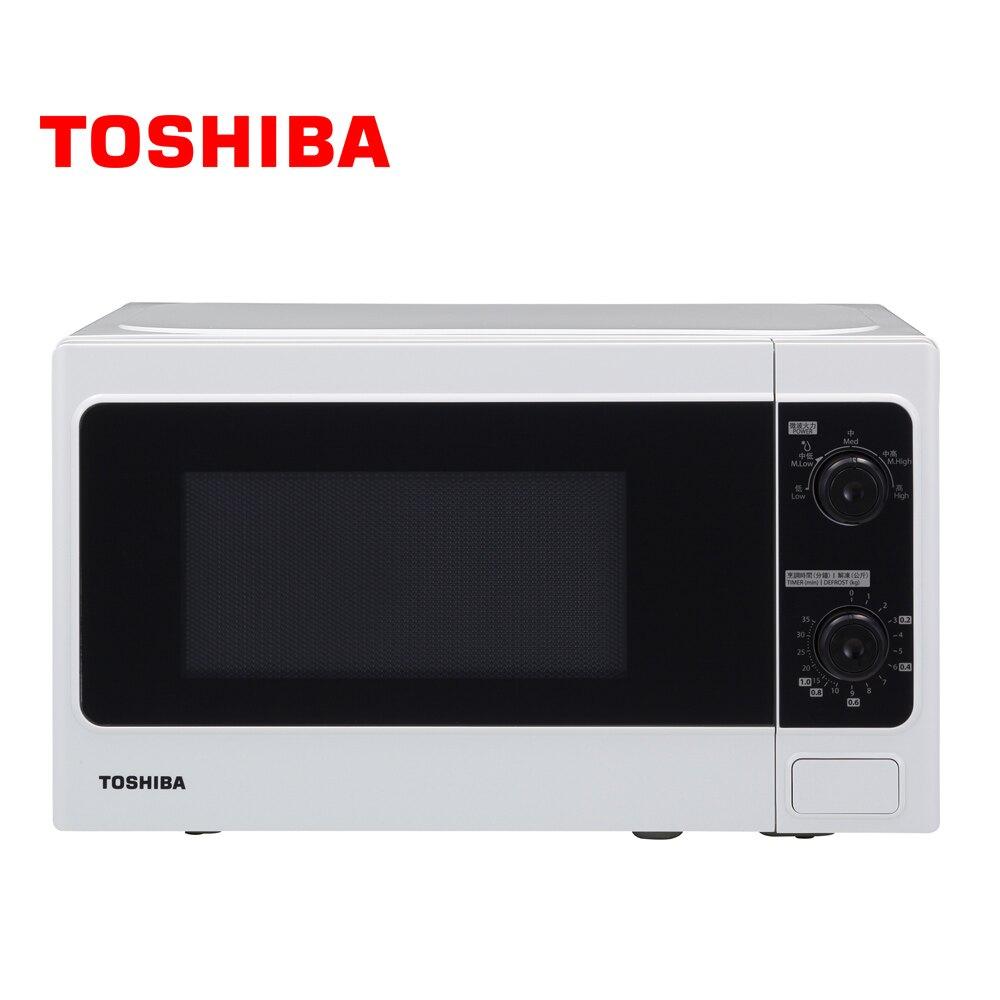 TOSHIBA 東芝 MM-MM20P 旋鈕式微波爐 20L 700W+5段火力