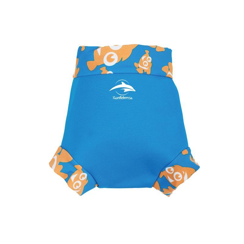 嬰幼兒游泳專用外層加強防漏尿布褲 - 水藍/小丑魚 9-12mth