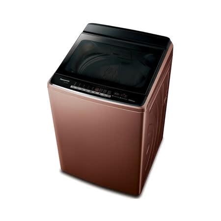 (含標準安裝)【Panasonic國際牌】17KG變頻溫水nanoeX洗衣機 NA-V170GB-T