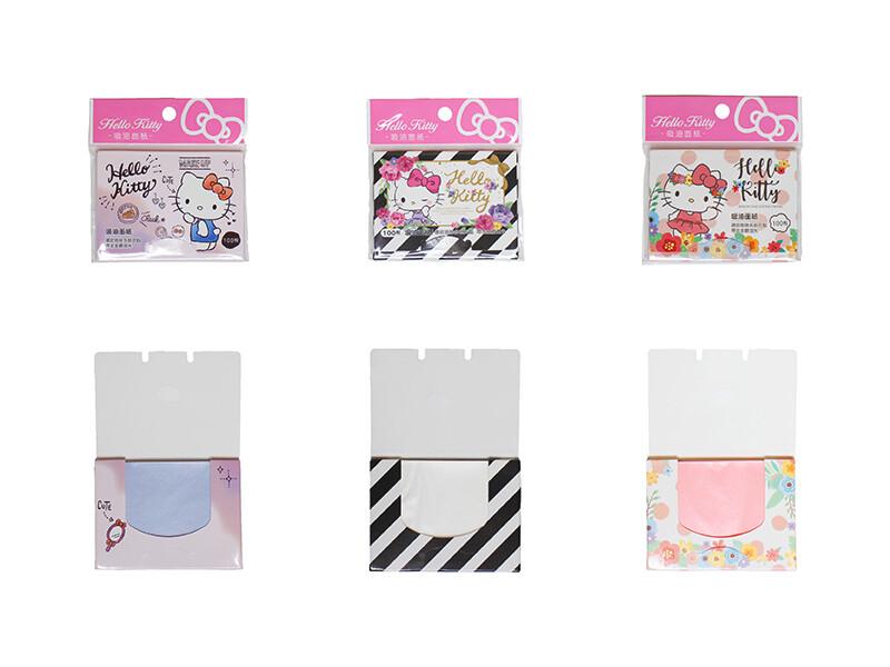sanrio正版授權 三麗鷗 hello kitty 吸油面紙 隨機出貨