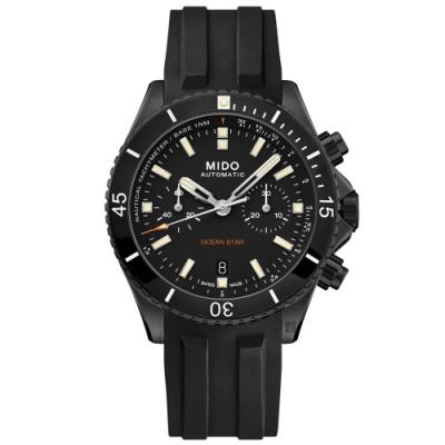 MIDO美度 Ocean Star 海洋之星陶瓷計時機械錶-44mm  M0266273705100