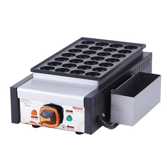 章魚小丸子機器商用電熱魚丸爐單板蝦扯蛋章魚燒機櫻桃丸子機 cj 雙12購物節