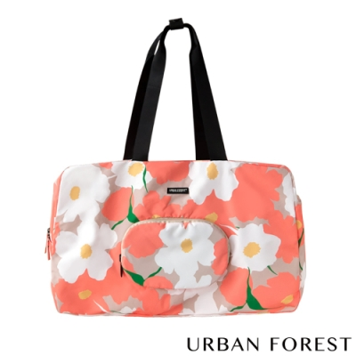 URBAN FOREST都市之森 樹-摺疊旅行包/旅行袋 虞美人