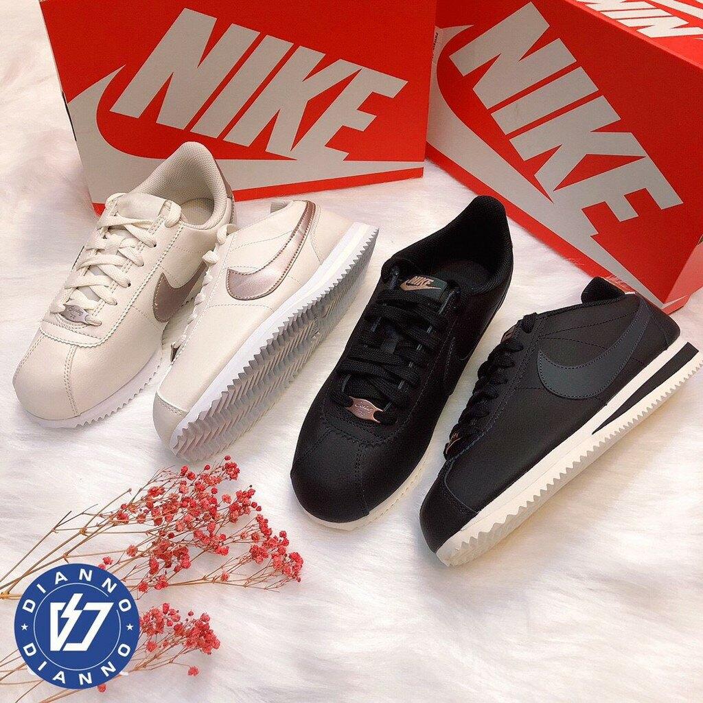 帝安諾-Nike Cortez  阿甘 國外限定 奶茶 米白 玫瑰金 黑玫瑰金 阿甘鞋 白金 白銀 AH7528-002► 618天天領券現折120
