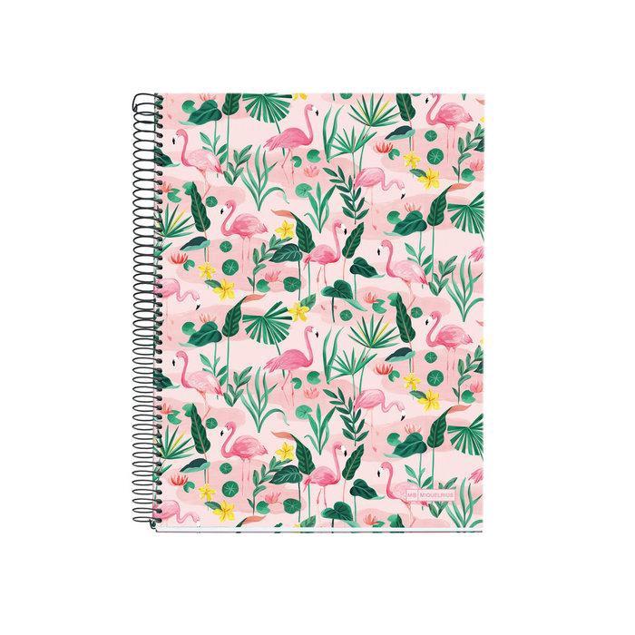 MIQUELRIUS Flamingo Notebook/ A5/ Horizontal eslite誠品