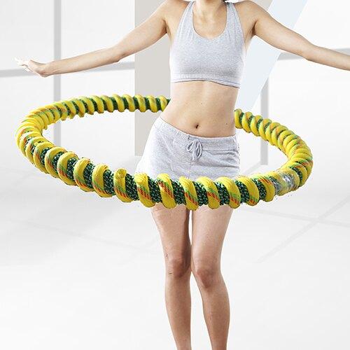 2021搶先款 牛津繩呼啦圈成人加重男女6斤7斤10斤美腰收身收腰收腹健身圈【八折下殺】 新年狂歡