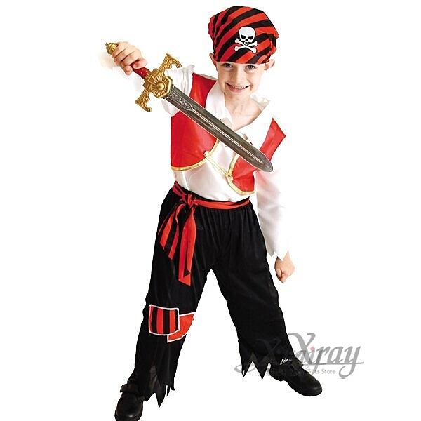 俏皮小海盜,化妝舞會/角色扮演/尾牙表演/萬聖節造型服裝/聖誕節/cosplay,節慶王【W645288】
