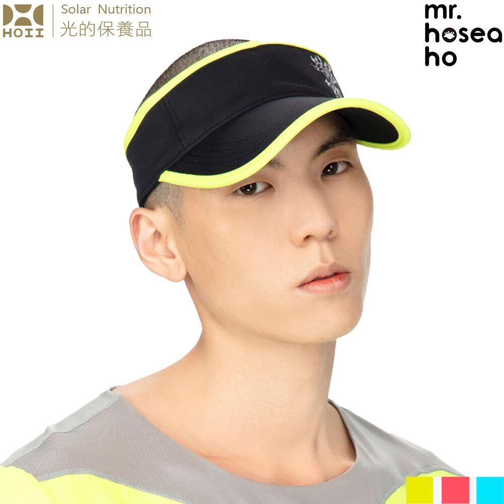 HOII后益-MR.HOSEA HO 拚色高爾夫球帽 3色任選-時尚機能防曬涼感抗UPF50抗UV