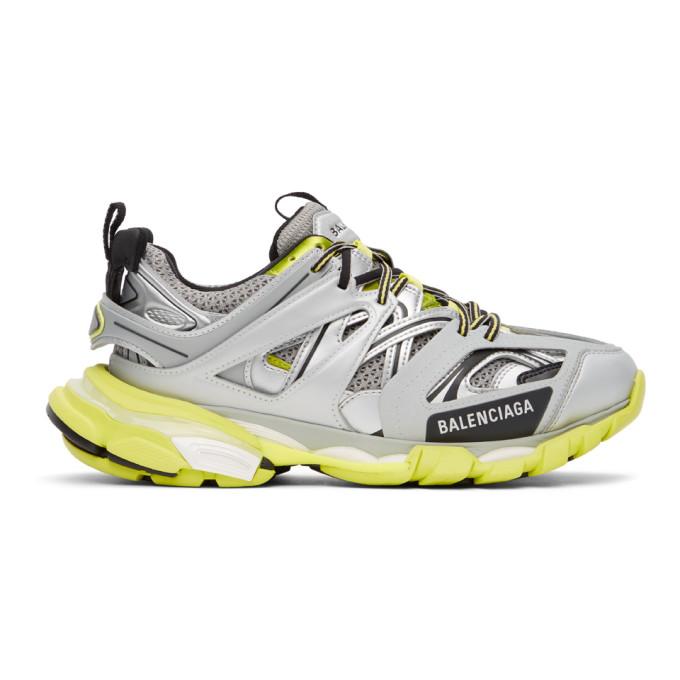 Balenciaga 银色 Track 运动鞋