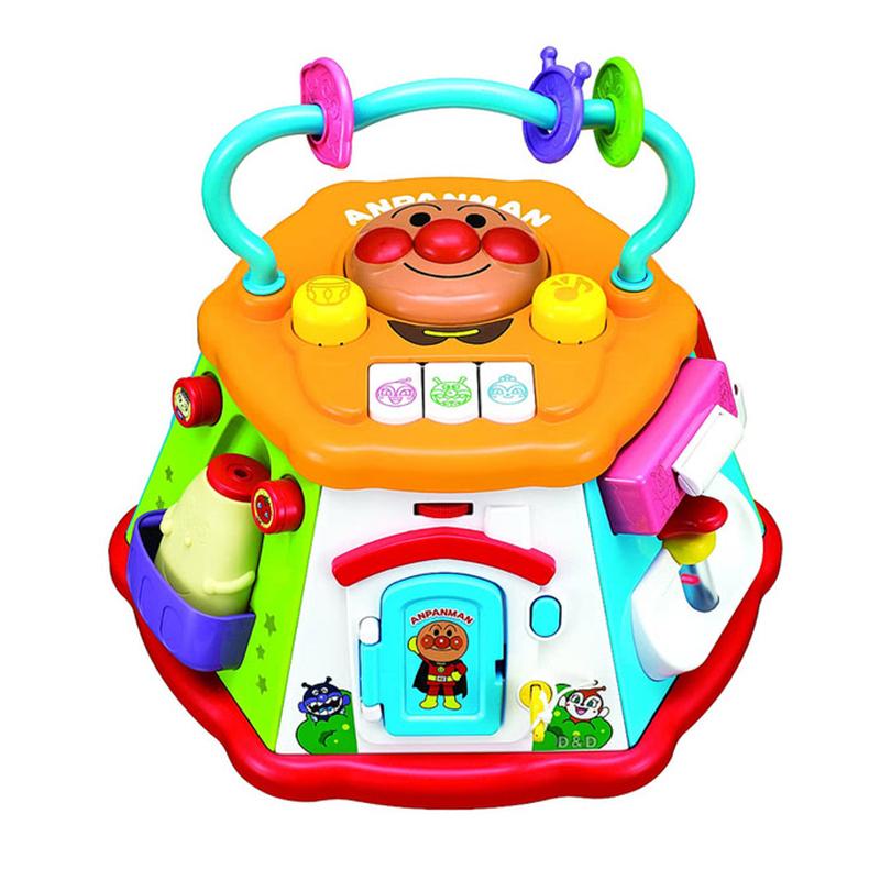 【領券折$30】小禮堂 麵包超人 益智玩具組《大.橘盒裝.7面.18種玩法》適合10個月以上兒童