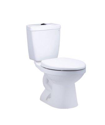 修易衛浴~凱撒衛浴 CT 1425 省水馬桶 40公分 (牙色) (宜花東偏遠地區 無法運送)
