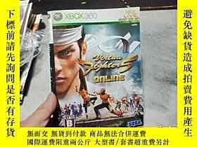 二手書博民逛書店遊戲光盤罕見XBOX 360 Virtua Fighter 5