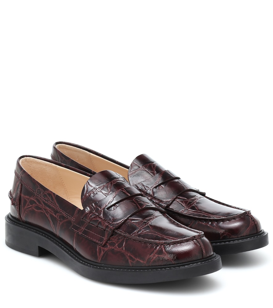 Spiga leather loafers