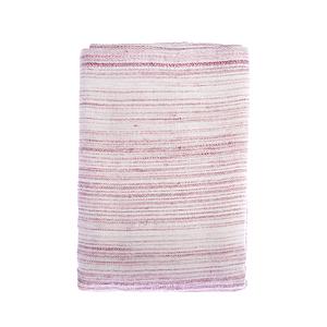 和風竹纖維紗布彩虹方巾(粉) 32x34cm