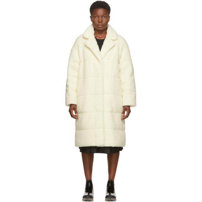 Moncler 灰白色 Bagaud 双面羽绒大衣