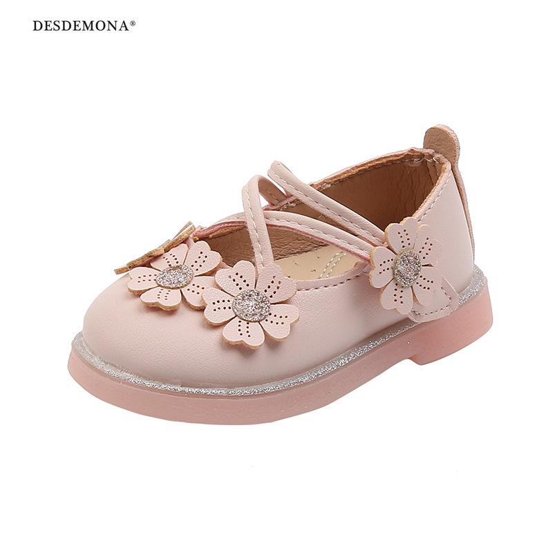 現貨出售 2020年新款 春秋款1-2-3嬰兒軟底學步鞋女寶寶公主單鞋防滑不掉單鞋0