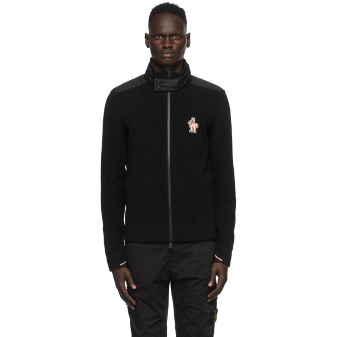 Moncler Grenoble 黑色 Cardigan 夹克