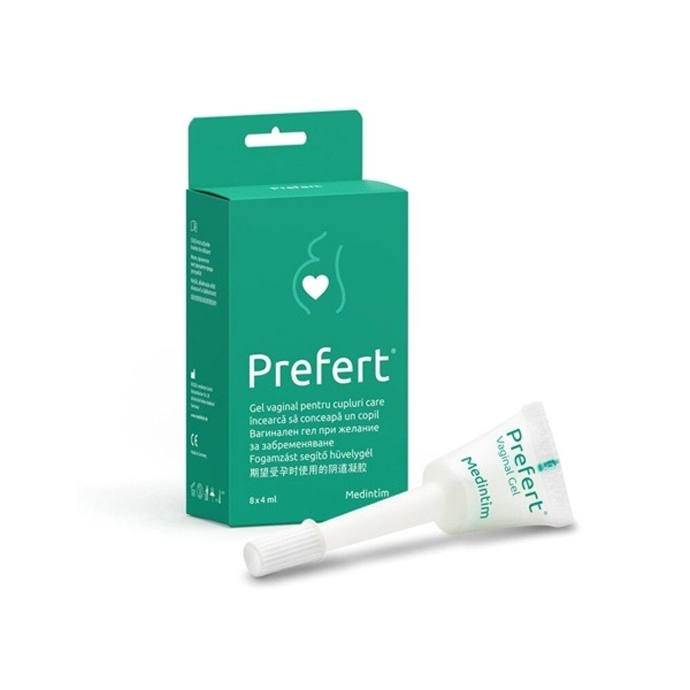 德國 Prefert 鹼性備孕潤滑劑(8支入)【小三美日】◢D730022