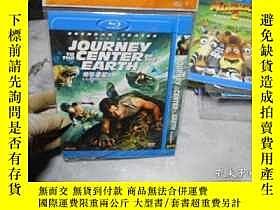 二手書博民逛書店地心遊記3D罕見DVD( 光盤編號1729)Y3210