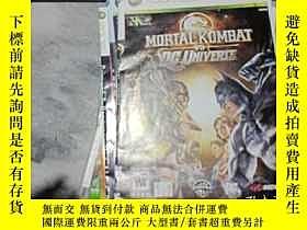 二手書博民逛書店遊戲光盤罕見XBOX 360 MORTAL KOMBAT VS
