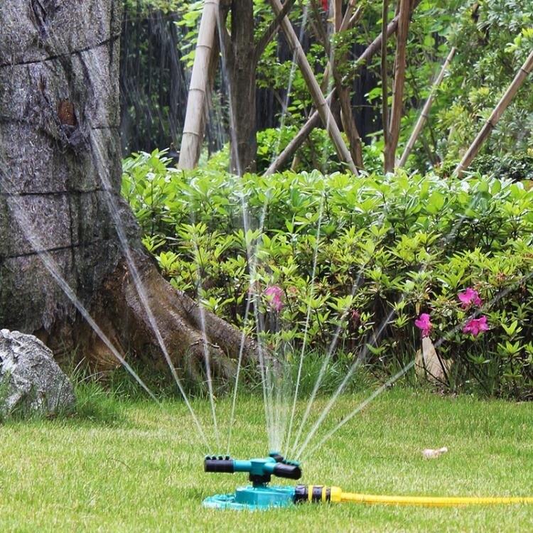 搶先福利 自動灑水機 自動灑水器澆水噴頭360度旋轉噴水農業農用灌溉園林噴 免運 夏季狂歡爆款