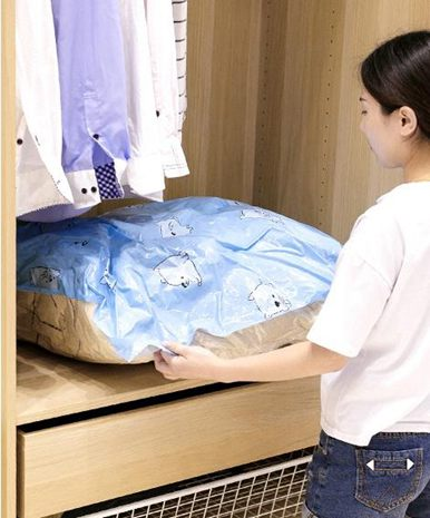 【618購物狂歡節】真空壓縮袋4特大4中加厚棉被羽絨衣物防霉防潮收納整理全館促銷限時折扣
