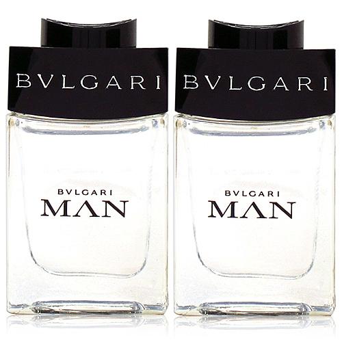 BVLGARI 寶格麗 MAN 當代男性淡香水5ml*2入 [QEM-girl]