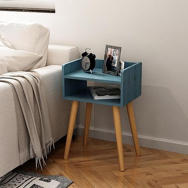 床頭櫃 床頭櫃 北歐簡約現代儲物櫃床邊小櫃子 多功能臥室小收納櫃經濟型