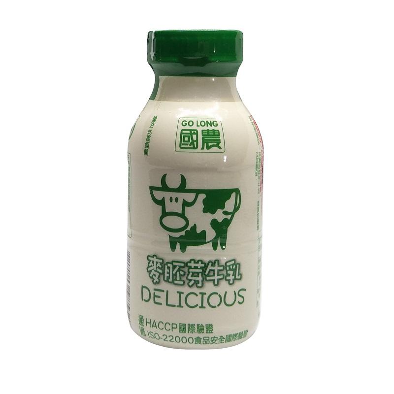 國農麥胚芽牛乳-215ml