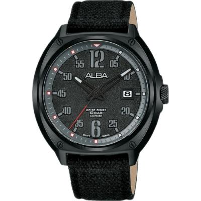 ALBA 雅柏 潮流個性帆布錶-42mm(VJ42-X287C/AS9J65X1)