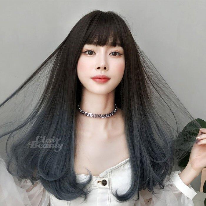 新款女神系假髮 耐熱 長捲髮 超美中分 微捲 假髮【MA548】☆雙兒網☆